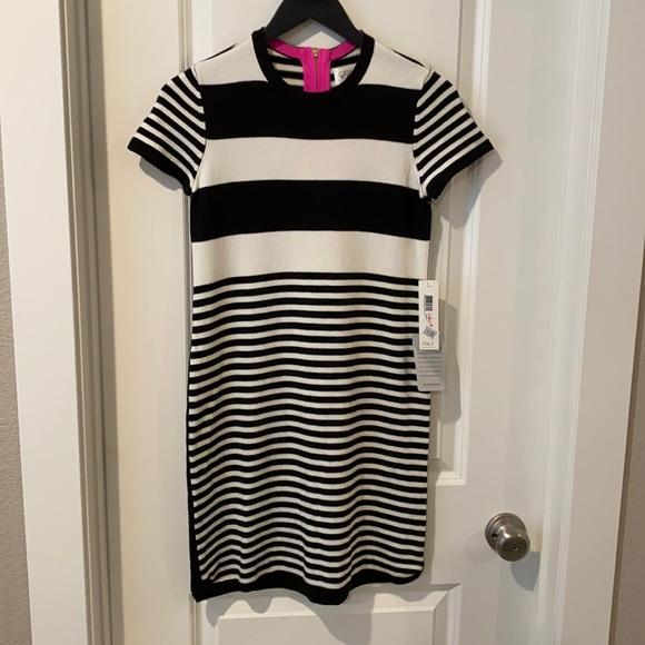 Eliza J Striped dress, Size 2P. NWT